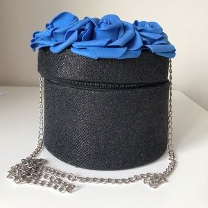 Handmade purse with roses